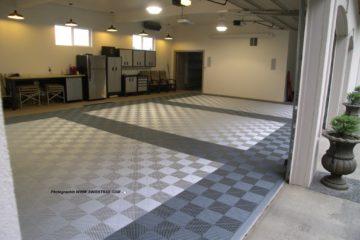 Belag für Garagenboden