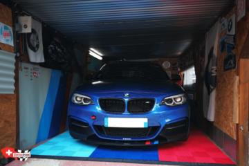 Boden-Bodenplatten-Garage