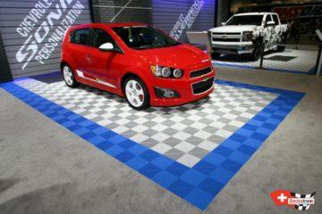 Boden für Auto Ausstellungsfläche