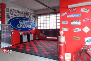 Boden für Automobil-Reinigungs-Center