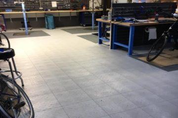 Boden-für-Fahrrad-Werkstatt