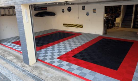 Boden-für-Garage
