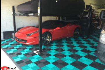 Boden für Garage