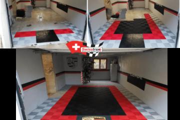 Boden für Garage personalisiert