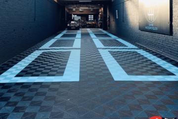 Boden für die Garage
