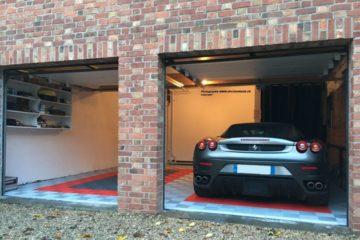Bodenbedeckung-Garage mit Swisstrax