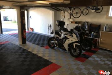 Bodenbelag-Garage