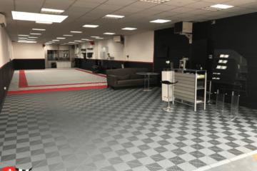 Bodenbelag-Showroom