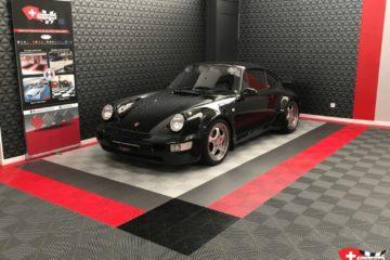 Bodenfliesen für Autohäuser