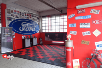 Bodenplatten dür Detailing und Autowaschboden