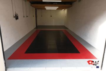 Bodenplatten für die Garage