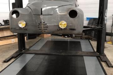 Diamondtrax als Werkstattboden