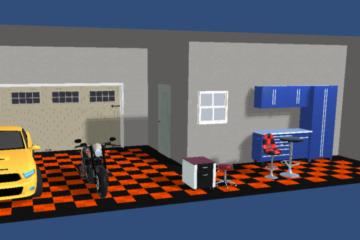 Garage-Boden-Projekt