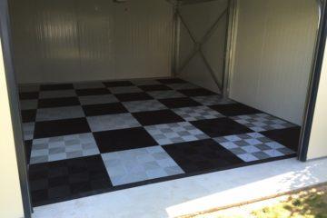 Garagen-Boden