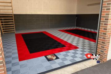 Garagen-Bodenbelag
