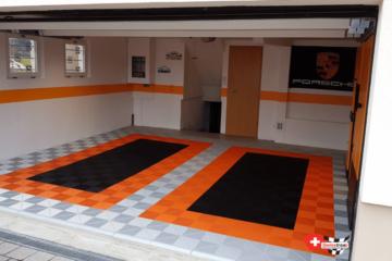 Garagen-Bodenbelag 2-Stellplätze