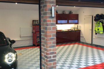 Garagen-Bodenplatten