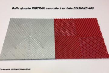 Garagenboden Diamondtrax - Ribtrax