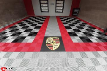 Garagenboden im Porsche Design
