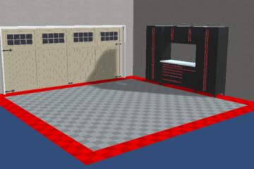 Garagenbodenfliesen 3