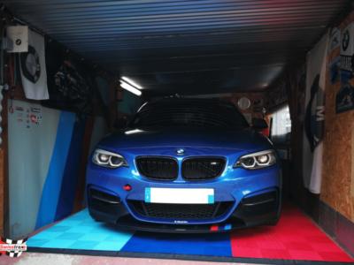 Individueller Garagenboden: Passen Sie die Farben an Ihre Leidenschaft an