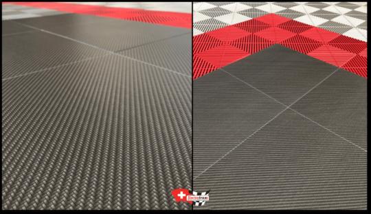 Platten-Boden-Carbontrax