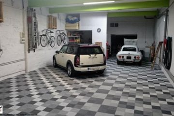 Privater Garagenboden