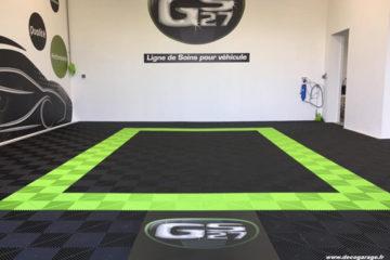 Realisierung eines Detailing-Werkstattbodens für die Marke GS27