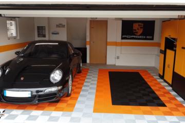 Ribtrax Garagenboden