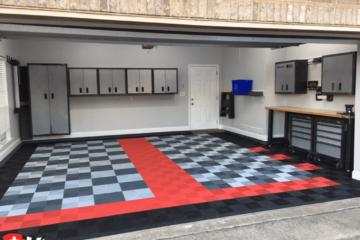 Ribtrax Garagenboden mit 2 Auto-Stellplätzen