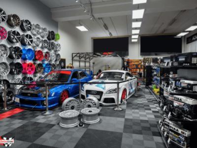 Schachbrett Design Showroom Boden