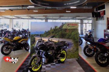 Showroom Boden Motorradausstellung