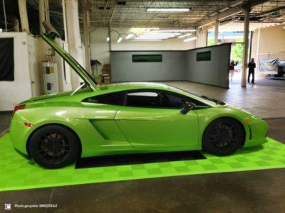 Techno-Green Ribtrax-Platten für Autopodium