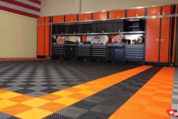 Werkstatt-Garagenboden