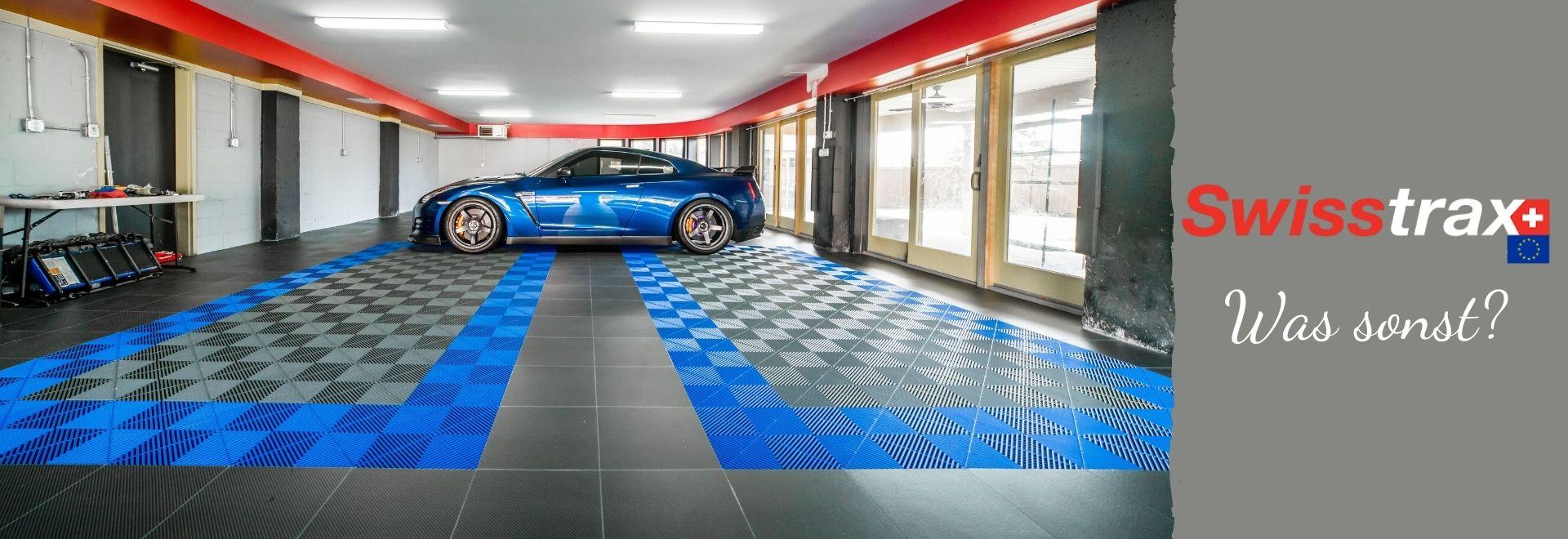Swisstrax-Garagenboden - Was sonst